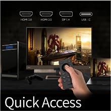Gaming Monitor,Entertainment, BenQ, EX2780Q, Free Synq,Color Vibrance,Black Equalizer, HDRi, Trevolo