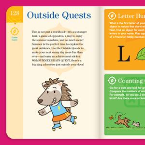 quest, scavenger hunt, summer camp, learning, map skills