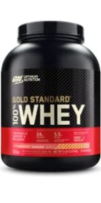 gold standard protein powder, whey protein powder, optimum nutrition, 100% whey protein, gsw, ON