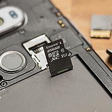 Kingston Canvas Select microSD