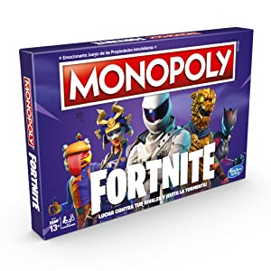 Juego Mesa Monopoly Fornite