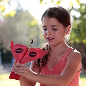 powerup toys 2 airplane paper kit diy origami kickstarter campaign