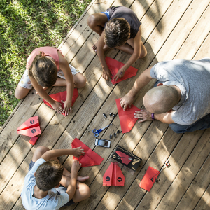 paper airplane stem activity for the entire familiy