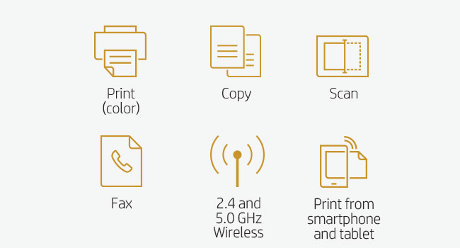 print scan copy fax mobile device smartphone tablet 802.11 Wi-Fi direct wireless