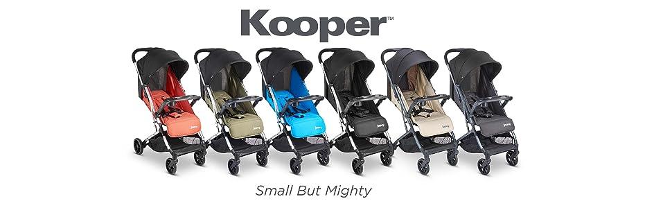 Kooper pequeno mas poderoso carrinho de passeio compacto