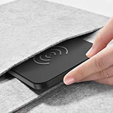 CHOETECH Qi ワイヤレス充電器 持ち運びやすい
