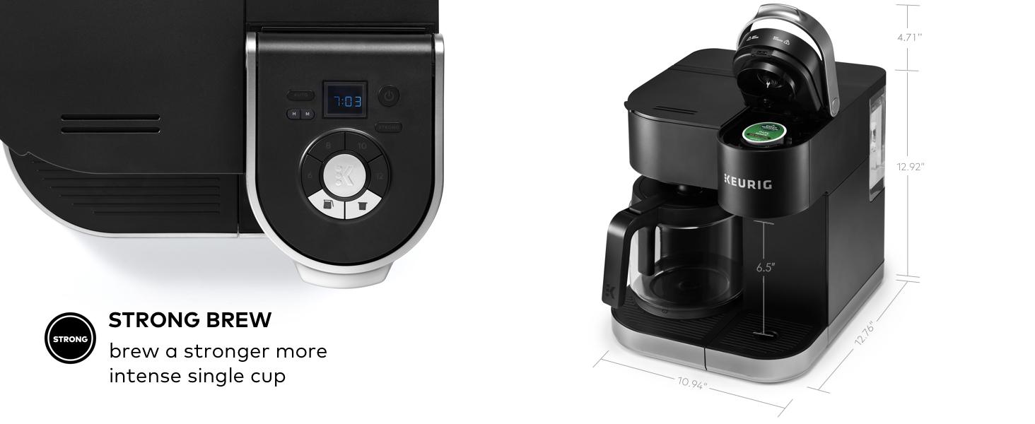 k-duo coffee maker, kduo, k-duo carafe coffeemaker, single serve, coffee machine