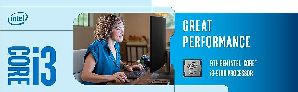 9th gen Intel Core i3-9100 processor