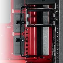 pre-installed GPU graphics card holder