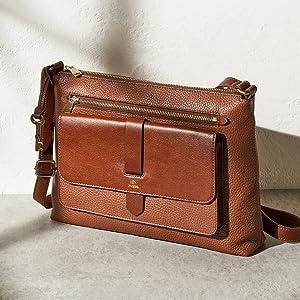 fossil handbags wallets