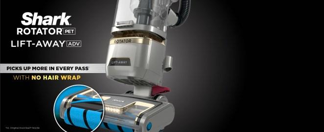rotator, lift away, pet hair pickup, pet vacuum, pet vacuum cleaner