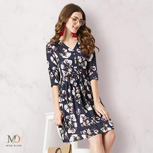 dresses women western wear maxi party wear midi floral bodycon velvet readymade long casual black