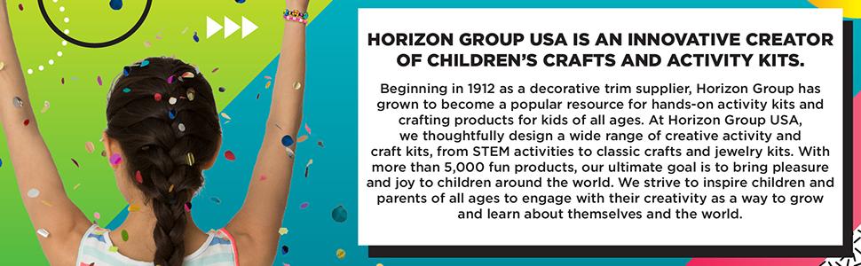 horizonte grupo eua, kits de atividades, artes e ofícios, explorar, aprender, crescer, criar, haste, vapor