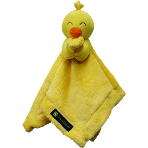 John Deere Cuddle Blanket Chick
