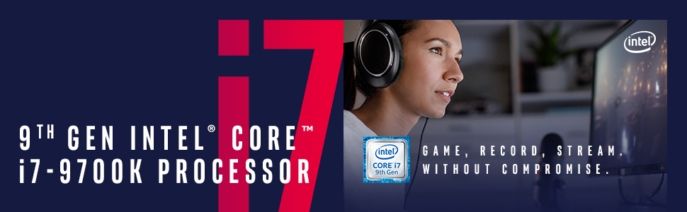 9th Gen Intel Core i7-9700K Desktop Processor
