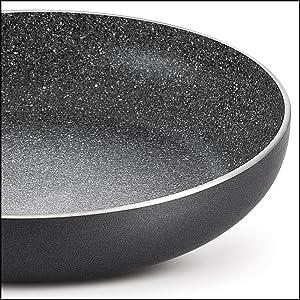 Prestige Omega Deluxe Granite Fry Pan, 280mm, Black (36306) SPN-FOR1