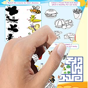 paper quality, 505 activities, kids activities
