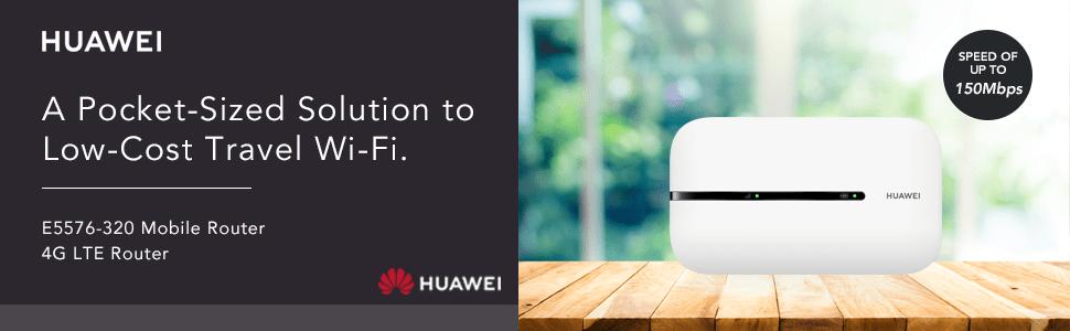 Huawei E5576-320 travel hotspot white