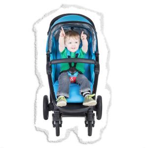 slim width stroller
