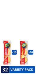 Ritz Peanut Butter Sandwich Crackers & Cheese Sandwich Crackers Variety Pack