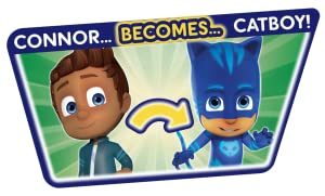 Amazon Com Pj Masks Transforming Figure Set Catboy Toys Games