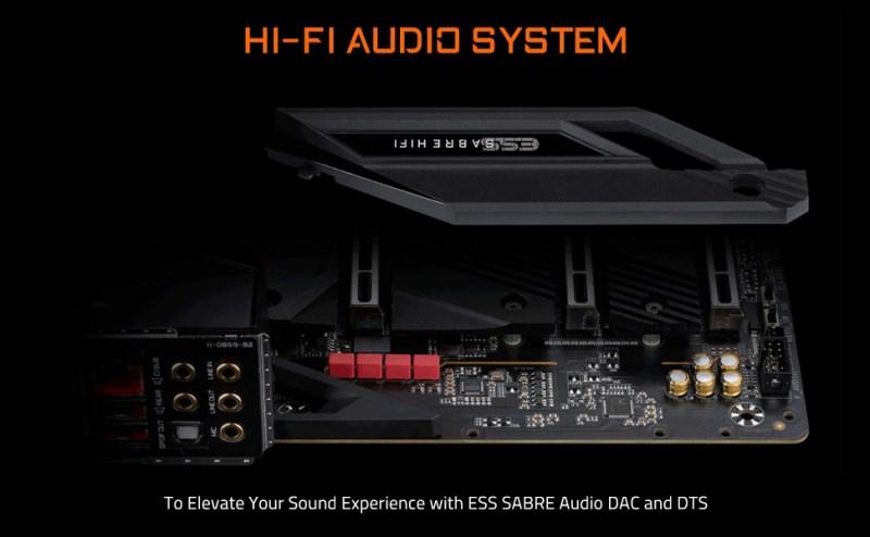 z590 aorus audio
