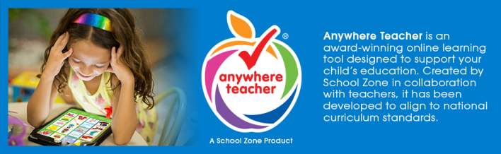 Anywhere Teacher, Award-Winning, Educational Online Learning Tool, Kids, Learning, App, Educational