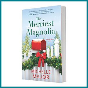 The Merriest Magnolia by Michelle Major book cover image