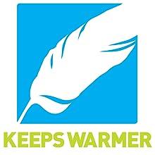 Keeps warmer