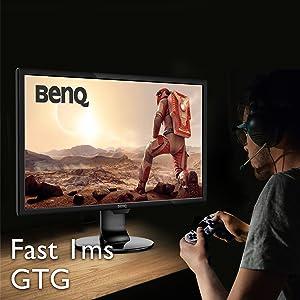 BenQ 1ms gaming monitor