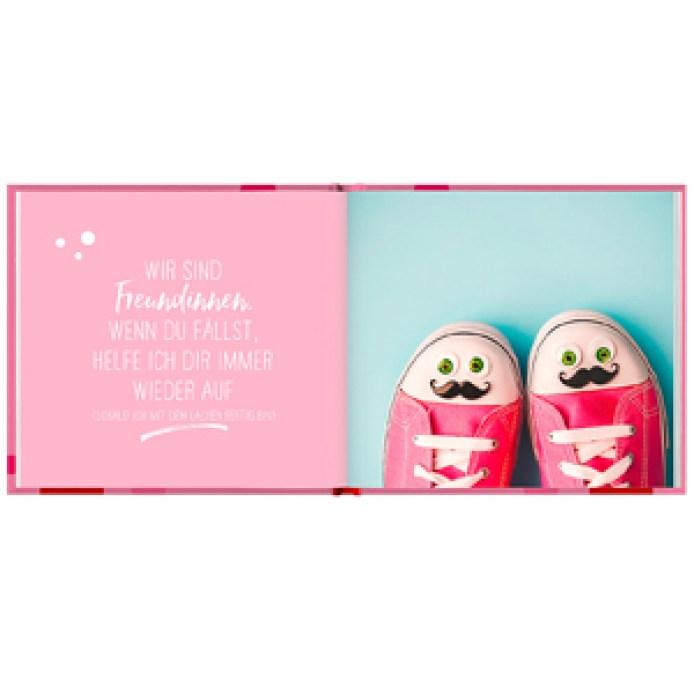 Minibuch, Freundin, Buch