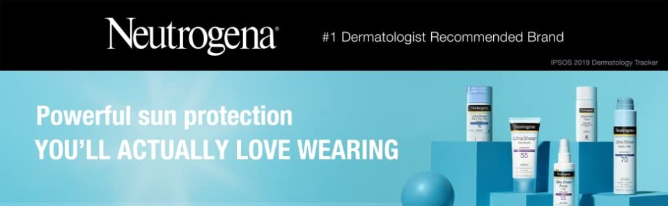 Neutrogena Ultra Sheer Sunscreen offers powerful sun protection you'll actually love wearing