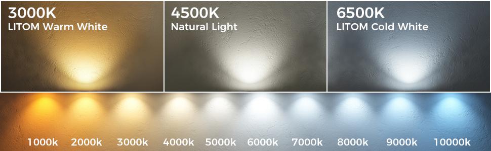 güneş LED peyzaj aydınlatması