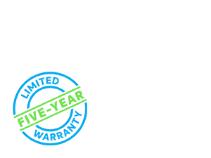 5-year Limited Warranty
