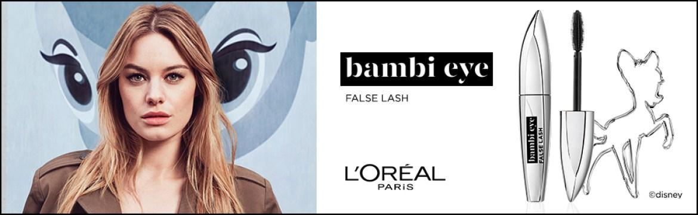 False Lash Bambi Eye, Mascara, Mascara, Mascara, Volume, Length, Swing, Rehabilitation, Open View