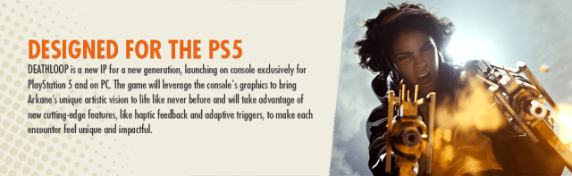 Designed for the PS5