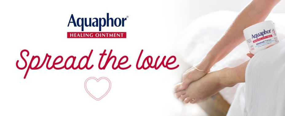 aquaphor healing ointment, spread the love, multipurpose solution, heal dry skin
