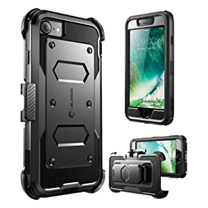 i-Blason Armorbox Case for iPhone SE 2020 7 8 screen protector holster
