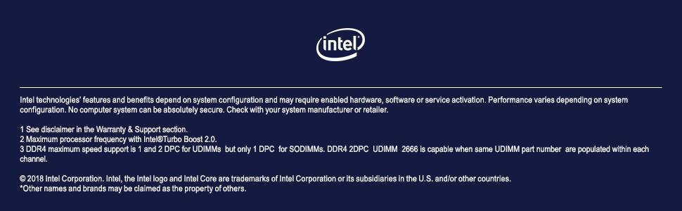 Intel Core i9-9900K processor unlocked