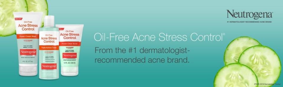 Neutrogena Oil Free Acne Stress Control