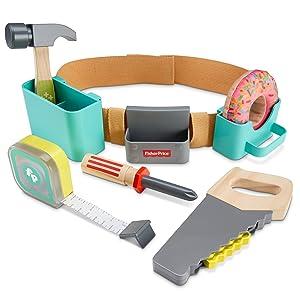 Vorschul-Spielzeug mit Holzdesign für tolle Reparatur-Rollenspiele zu Hause!