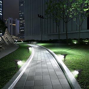güneş ledli çim lambaları