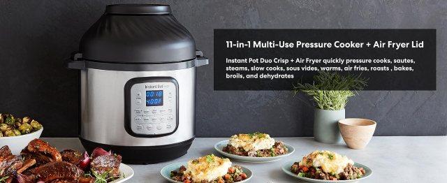 Instant Pot, Insta Pot, multicooker, pressure cooker, rice cooker, slow cooker, air fryer