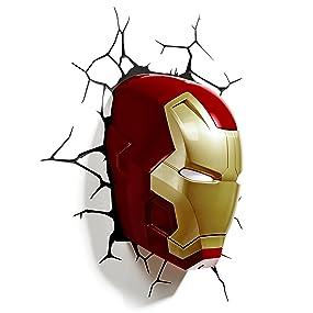 Iron Man Mask Night Light