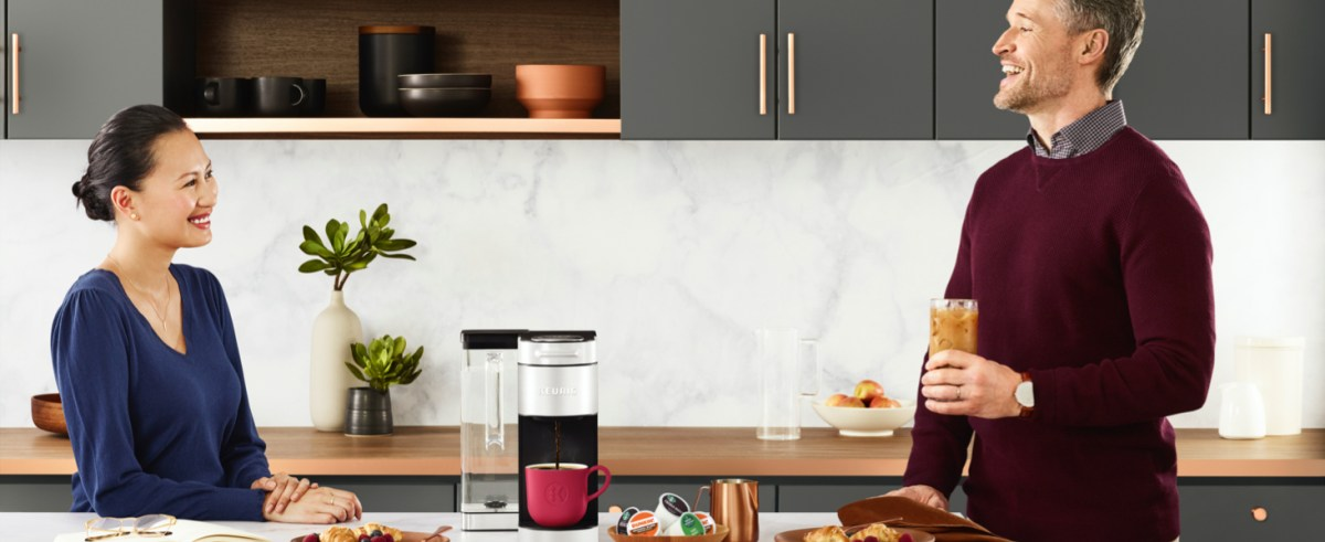 K-Supreme Plus Keurig single serve coffee maker