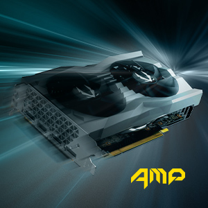 ZOTAC GAMING GeForce GTX 1660 SUPER AMP ZT-T16620D-10M Graphics Card VR READY GET FAST GAMING STRONG