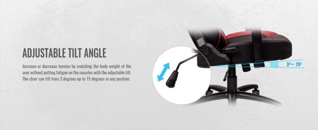 U Comfort Black-Red Gaming Chair