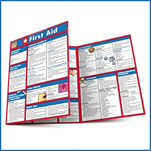 Quick Study QuickStudy First Aid Laminated Study Guide BarCharts Publishing First Aid Reference