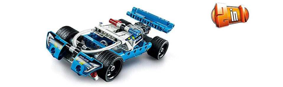 LEGO 42091 Technic Police Toy Car Review