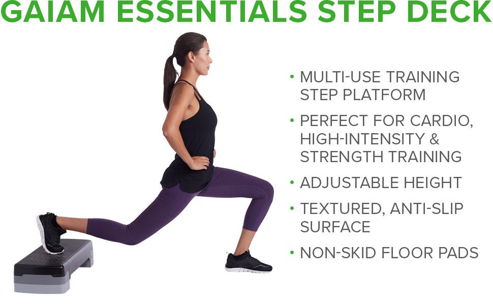 Gaiam Essentials Step Deck